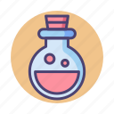chemical, flask, health potion, mana potion, potion, solution icon