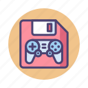 floppy disk, game, save, save game icon