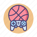 basketball, game, nba, sports, sports game icon
