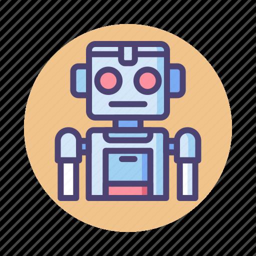 bot, robot, robotics, sprite icon