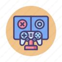 game, game experiment, game testing, gaming experiment, testing, testing game icon