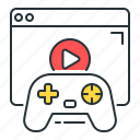 game, internet, internet game, multiplayer, online game icon