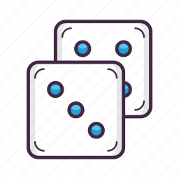 casino, dice, gambling, game, poker, roll icon