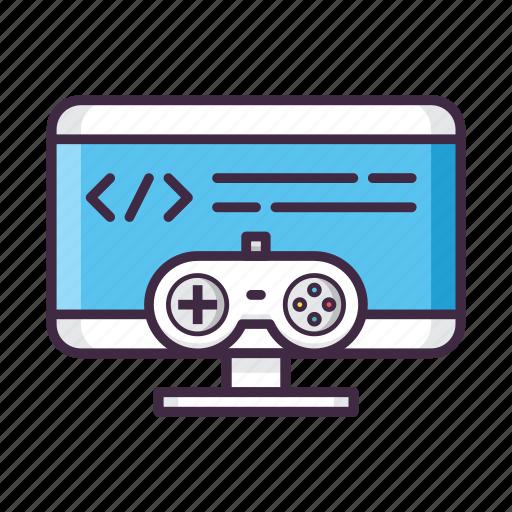 coding, design, development, game, gaming icon
