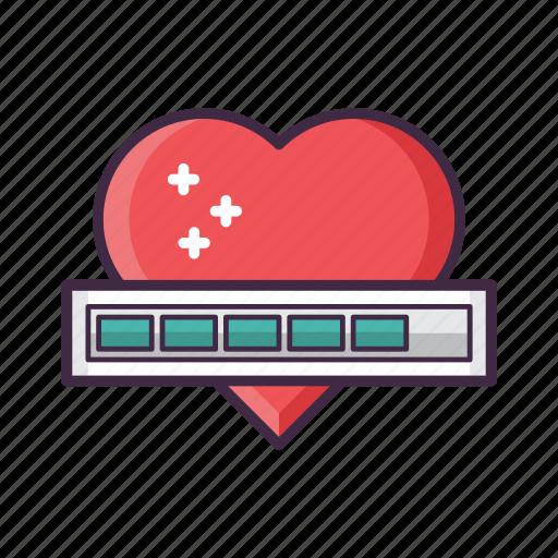 health, heart, hearts, hp, life icon