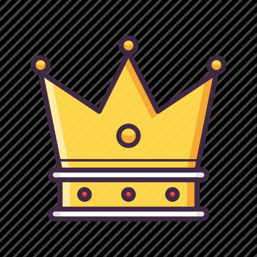 crown, king, prince, royal, vip icon