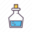bottle, drink, magic, magical, magician, mana, potion icon
