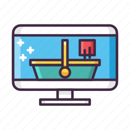 cart, distribution, gaming, internet, network, online, shopping icon