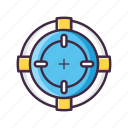 game, shooting, controller, gaming, multimedia, play, player icon