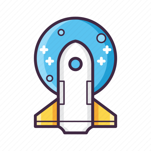 astronaut, astronomy, mission, rocket, space, spacecraft, spaceship icon