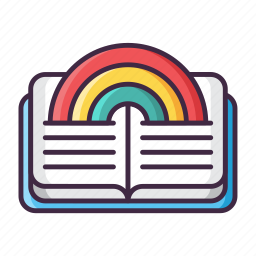 Story, fairy, fantasy, legend, magic, rainbow, tale icon - Download on Iconfinder