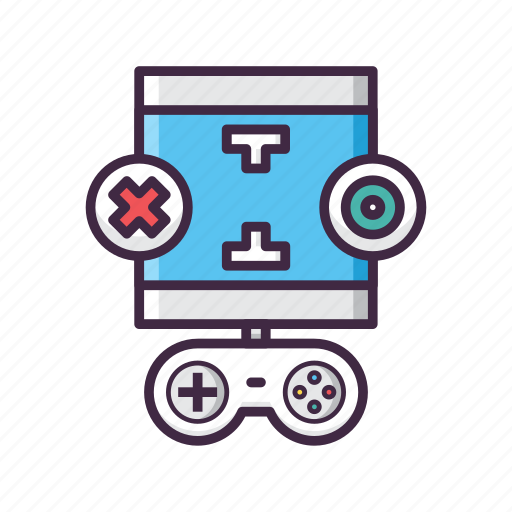 controller, game, gaming, play, player, result, testing icon
