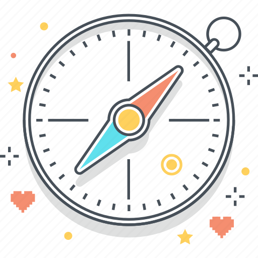 compass, game, map, navigation icon