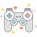 computer game, console, controller, game, joypad, joystick icon