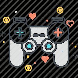 computer game, console, controller, game, joypad, joystick icon