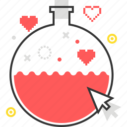 game, life, mana, potion, video game icon