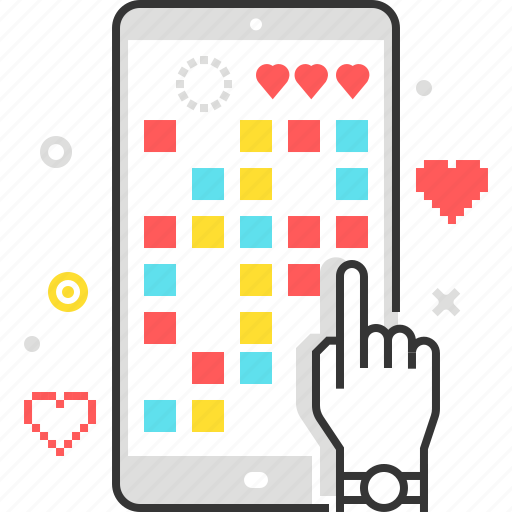 finger, game, hand, mobile, phone, smart icon