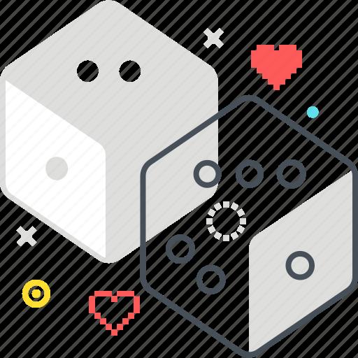 board, dice, gamble, gambling, game, video game icon
