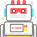 beep, character, game, monster, robot, sprite, video game icon