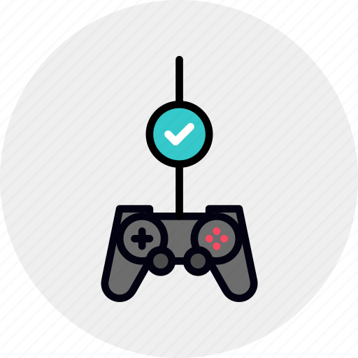 check, controller, game, gamepad, gaming, test, testing icon