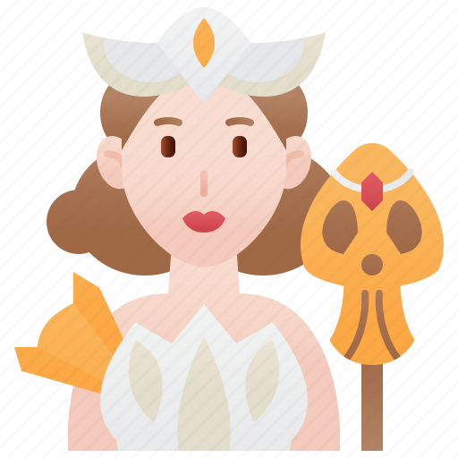Beauty, character, games, princess, queen icon - Download on Iconfinder