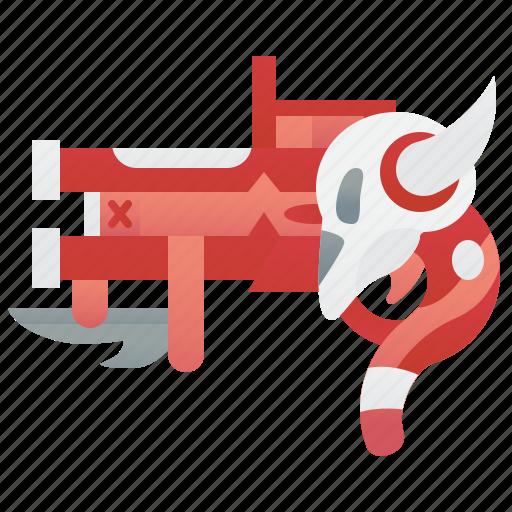 Fancy, games, gun, warrior, weapon icon - Download on Iconfinder