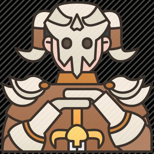 armor, fantasy, games, knight, warrior icon