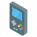 game console, gameboy, gamepad, handheld game controller, nintendo, video game icon