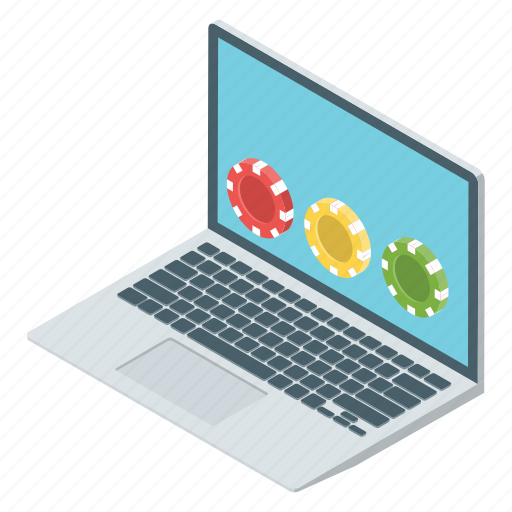 laptop game, online game, playstation, poker game, video game icon