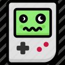 dizzy, emoji, emotion, expression, face, feeling, gameboy icon