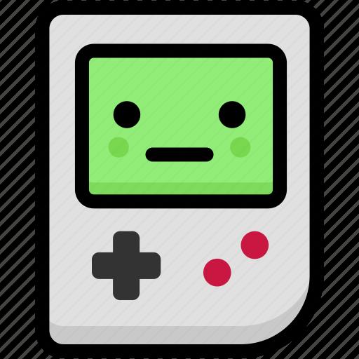 emoji, emotion, expression, face, feeling, gameboy, neutral icon