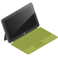 microsoft, mpad, windows 10 icon
