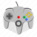 controller, game, gamepad, joystick, n64, nintendo, video game icon