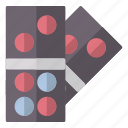 casino, dominoes, entertaiment, game icon