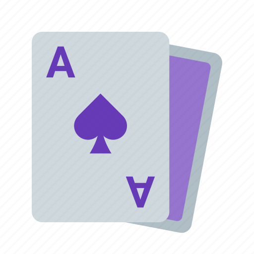 ace, card, cards, playing, poker, spades icon