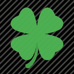 clever, clover, leaf, patricks, shamrock icon