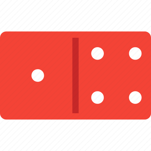casino, dominoes, gambling, games, piece icon