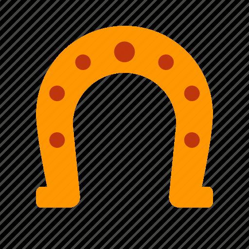 casino, fortune, gambling, happiness, horseshoe, luck icon