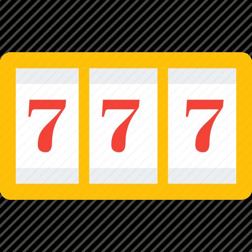 casino, gambling, jackpot, machine, seven, slot icon