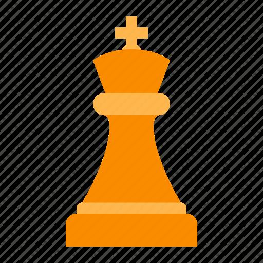 king, white icon