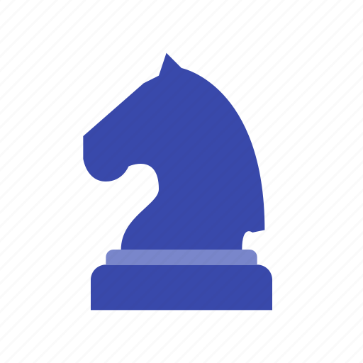 black knight, chess, figure, game, horse, piece, strategy icon