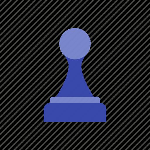 black pawn, chess, figure, piece icon
