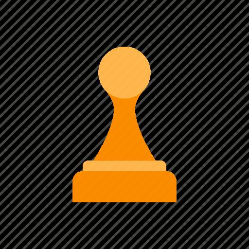chess, chess piece, pawn, piece, strategy, white icon