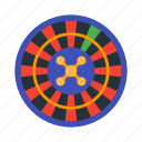 casino, gamble, gambling, game, roulette icon
