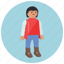 doll, games, human, man, playmobil, toys icon