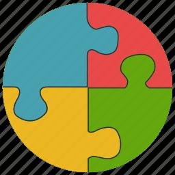 games, jigsaw, jigsaw piece, jigsaw puzzle, puzzle, toys icon