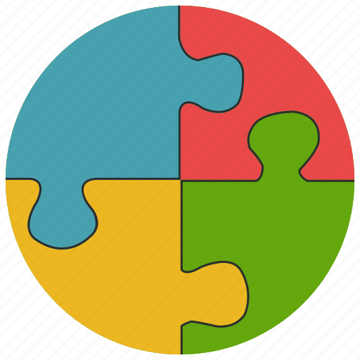 Games Jigsaw Piece Puzzle Toys Icon