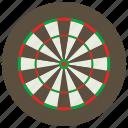 dart, dart board, darts, games, toys icon