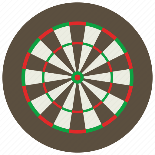 dart, dart board, darts, games, toys icon