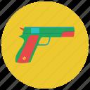 games, gun, pistol, toy gun, toys icon